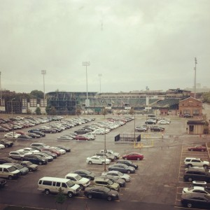 I told you I was close to Frontier Field!