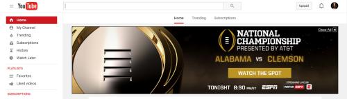 YouTube CFP