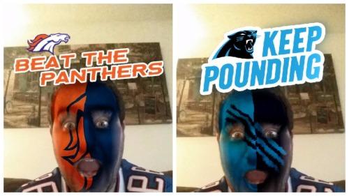 Super Bowl Snapchat Filters