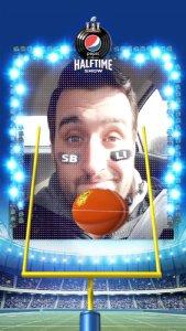 Pepsi Snapchat Lens Super Bowl LI