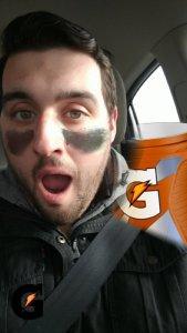 Gatorade Snapchat Lens Super Bowl LI